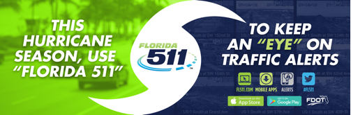 Use FL511 to prepare for the 2018 hurricane season